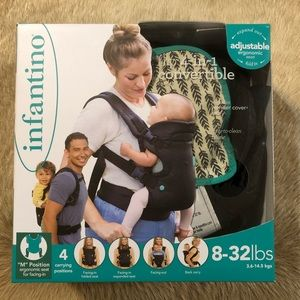 Infantino 4 in 1 Convertible Baby Carrier 8-32lb